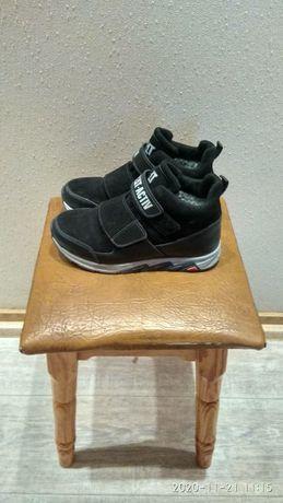 Зимові черевики 35р хлопчачі