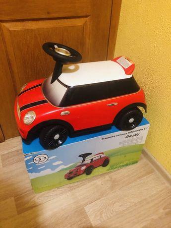 Толокар mini cooper . Машинка - каталка
