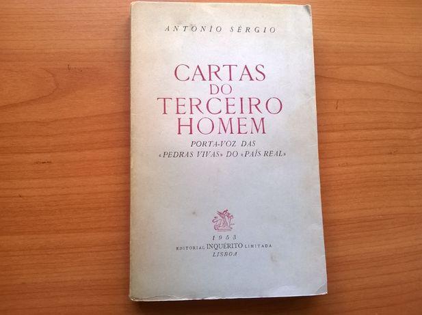 Cartas do Terceiro Homem (1.º vol.) - António Sérgio