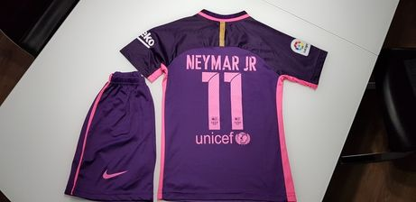 Strój FC Barcelona Neymar 128- 134 CUDO