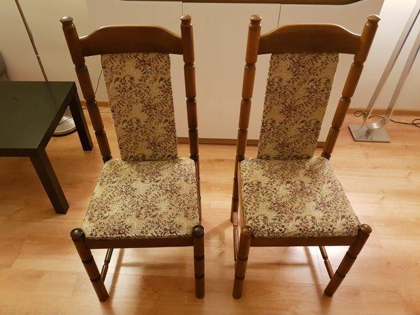 Krzesła PRL vintage