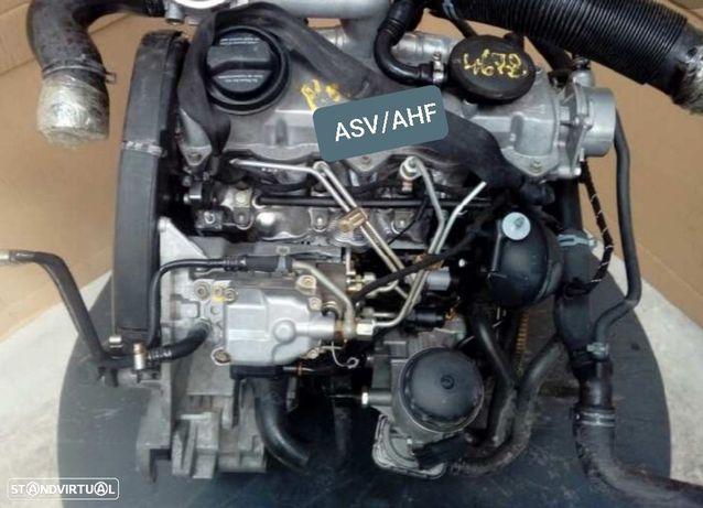 Motor Volkswagen Caddy Golf IV Bora Polo Seat Ibiza 1.9Tdi 110Cv Ref.ASV AHF