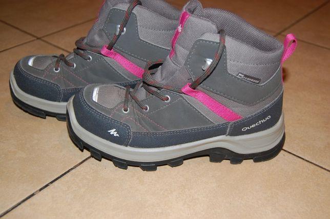 Buty dziewczęce Quechua rozmiar 33