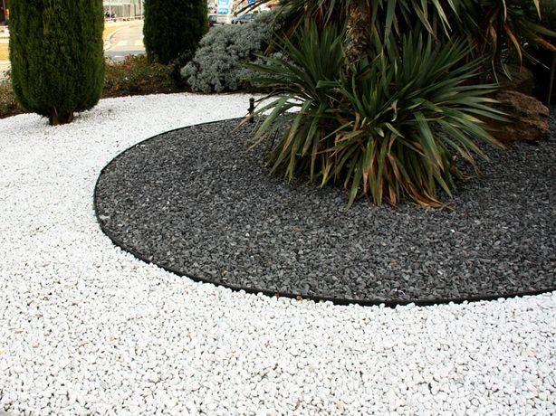 Grys Lawa wulkaniczna 10-20 mm kamień czarny do ogrodu i akwarium
