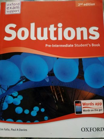 Підручник з англійської мови Solutions 8-9клас