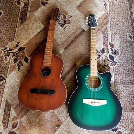 Класична і акустична гітара