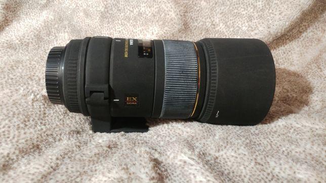 Obiektyw SIGMA do Canona 150 mm F 2,8 EX DG APO MACRO HSM