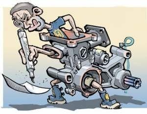 Reparações e manutenção de motos ,scooters e motorizadas .