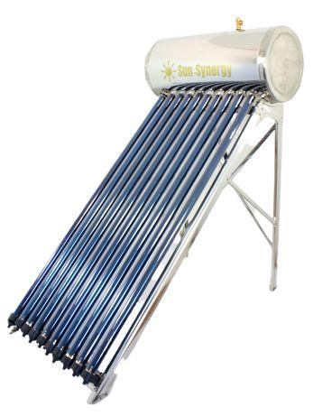 Kolektor słoneczny ciśnieniowy Heat-Pipe 100l, stal nierdzewna