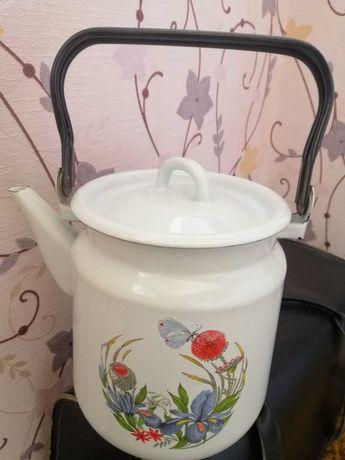 Чайник эмалированый