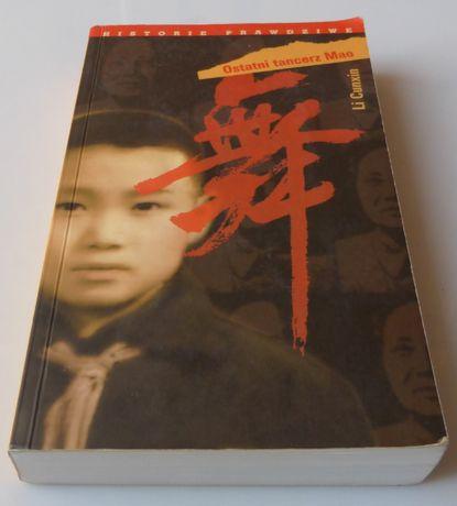 Książka literatura faktu Ostatni tancerz Mao Cunxin biografia wspomnie