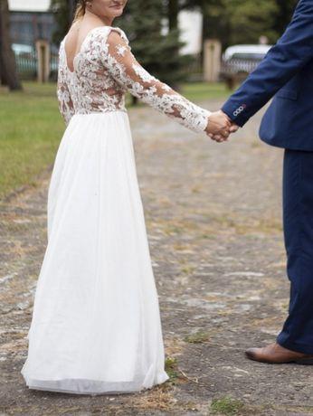 Suknia ślubna rozmiar L