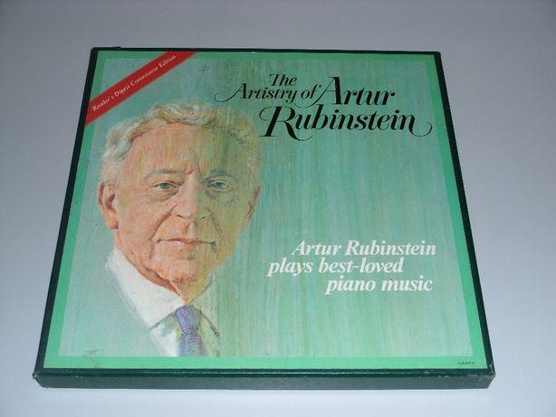 Vendo colecção de discos de vinil 7 Artur Rubinstein