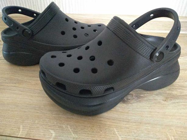 Crocs Bae Clog koturny platformy klapki j.nowe W6 36/37