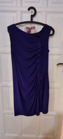 Fioletowa sukienka 14