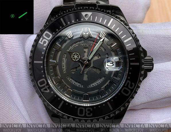 Часы Invicta 26161 Grand Diver Automatic Star Wars Darth Vader Lim.Ed.