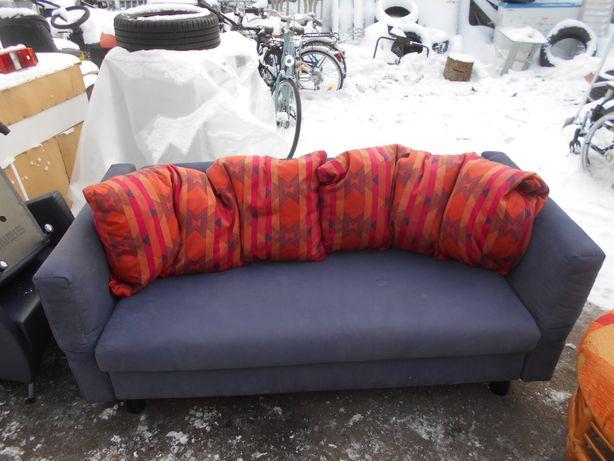 Sofa rozkładana z możliwością spania