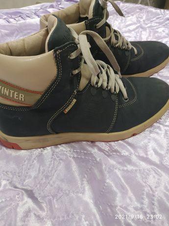 Ботинки зима кожа 40