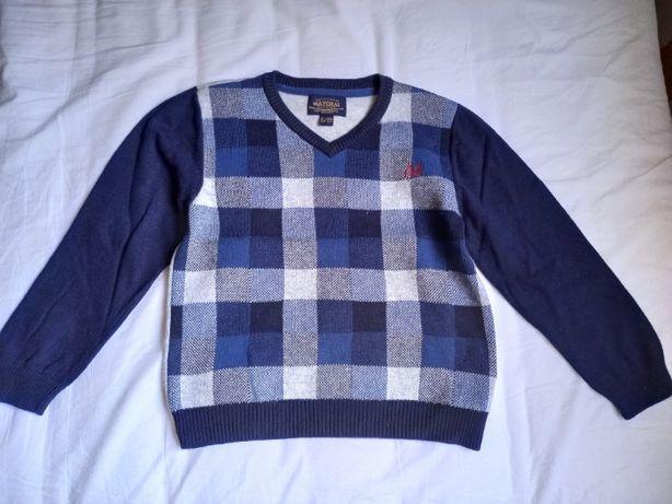 Sweter chłopięcy Mayoral w kratę