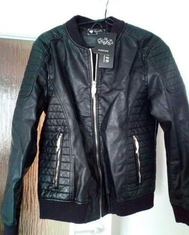 Skóra męska czarna rozmiar XL 3XL XXXL