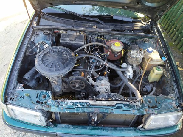 Audi 80 b4 abt 2.0 двигатель