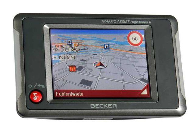 GPS Becker traffic assist