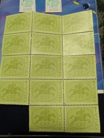 Vendo17 selos antigos