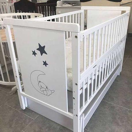 Детская кроватка маятник
