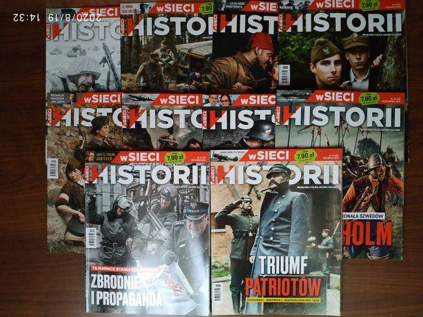 """Sprzedam archiwalne numery miesięcznika """"W Sieci Historii"""""""