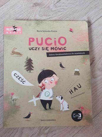 Książka dla dzieci Pucio uczy się mówić Nowa