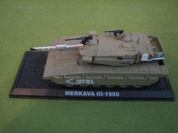Czołg Merkava III 1990 kolekcja CZOŁGI ŚWIATA AC