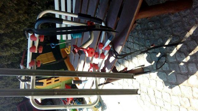 Bagażnik do 2 rowerów na klape.