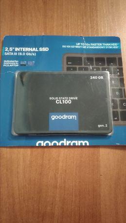 SSD Goodram 240gb в идеальном состоянии