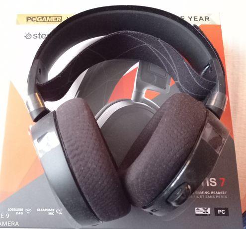Słuchawki bezprzewodowe Steelseries arctis7