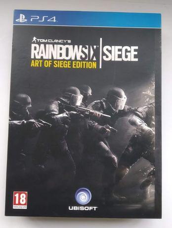 Edição Coleccionador Rainbow Six Siege ART Of SIEGE Edition ps4