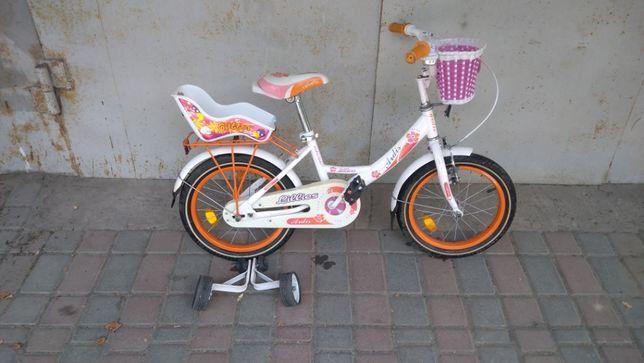 """Продам детский велосипед Ardis Lillies BMX 18"""" Бело-оранжевый"""