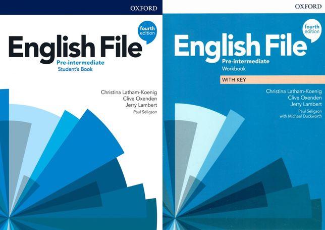 English File 4-th edition Pre-Intermediate