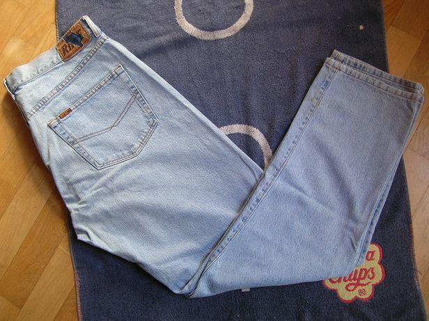 Oryginalne męskie spodnie jeansowe RIFLE L/XL jeansy 38/32 ITALY 95 cm