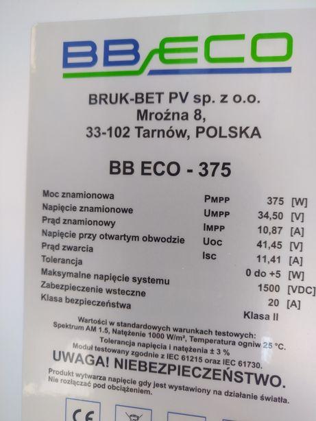 Panele fotowoltaiczne Bruk-bet BBEco 375W czarna rama