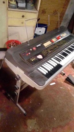 Keyboard organy pianino UNITRA eltra B-11 stojak prl