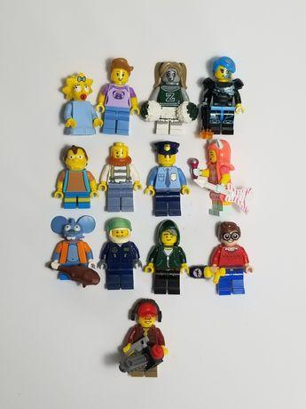 Лего оригинал lego minifigures минифигурки человечки city simpsons