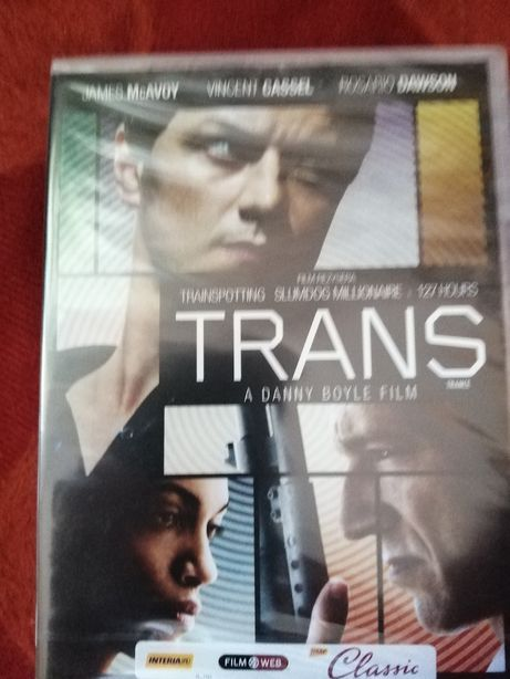 Trans dvd James McAvoy, Vincent Cassel
