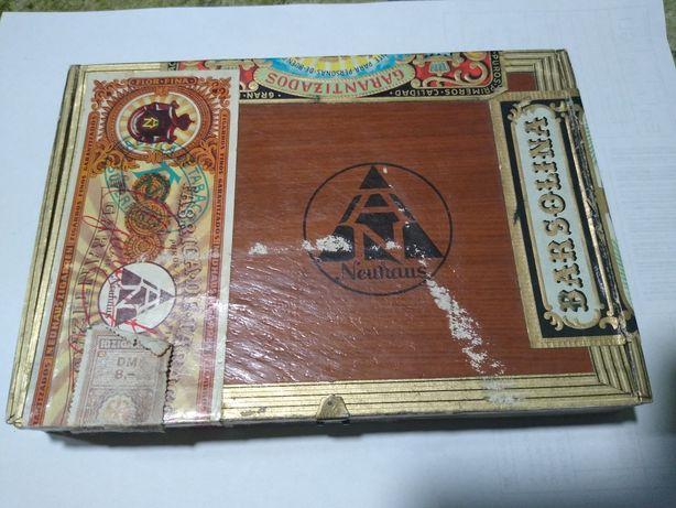 Pudełko po cygarach BARSOLINA
