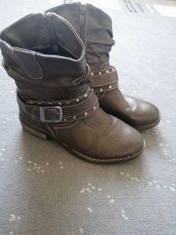 Сапожки Ботинки демисезон  35 р