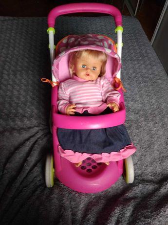 Smoby spacerówka wózek dla lalki