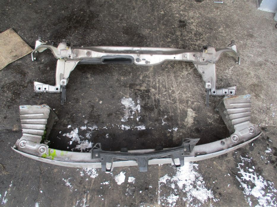 Opel Zafira B pas przedni wzmocnienie belka dolna górna strefu zgniotu