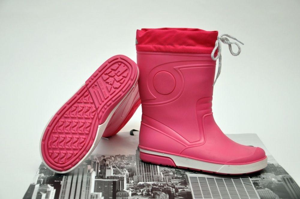 Теплые резиновые сапоги ботинки. р 33 (21.2 см). Италия. Харьков - изображение 1