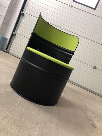 Fotele z beczki 200l