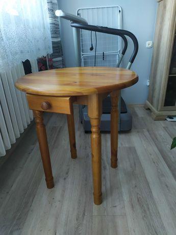 Stół wysoki z szufladą