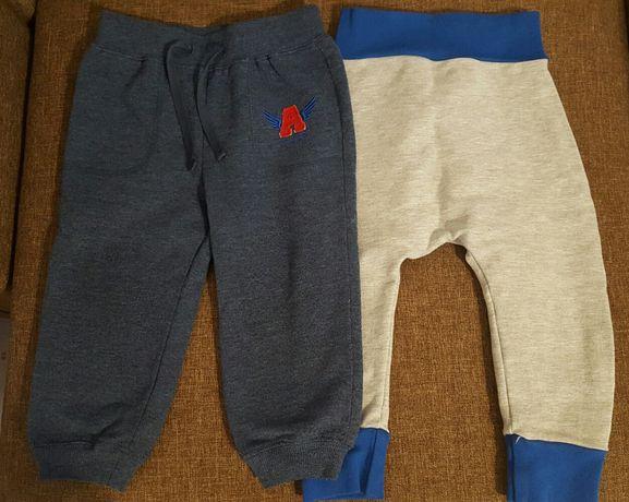 Spodnie, półśpiochy  dla chłopca rozmiar 74-86